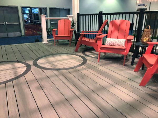 multi width decking by azek - kehoe ksutom design Build orange county NY