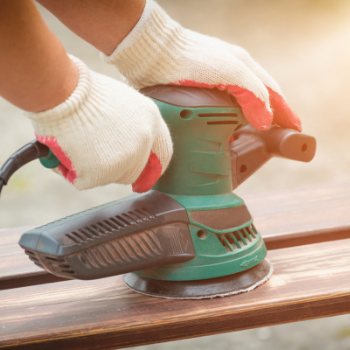 How to sand your deck