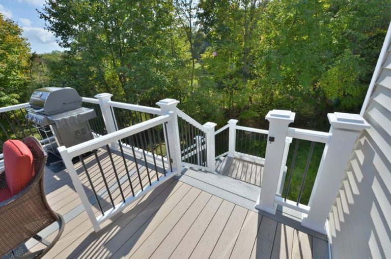 Deck in Goshen New York