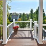 Deck in the Hudson Valley, New York