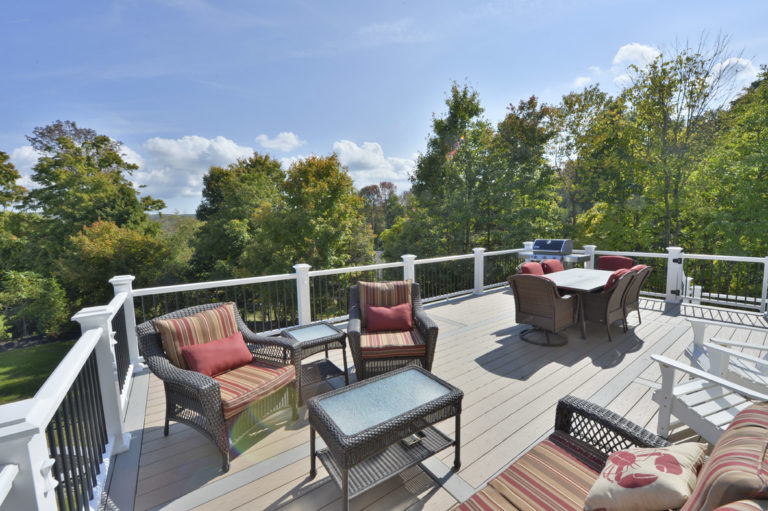 Outdoor Living Space and Deck in the Hudson Valley NY