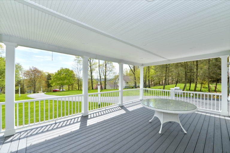 Front Porch Remodel in Hudson Valley NY