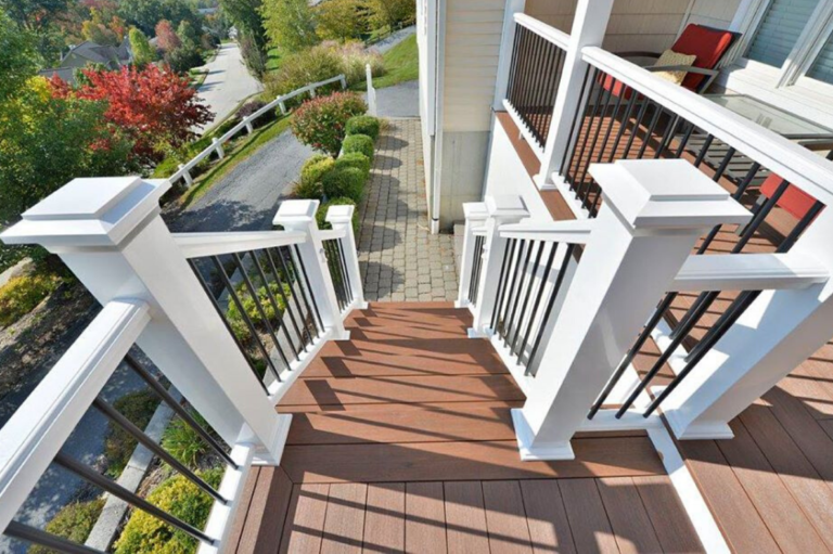 Deck Staircase in Hudson Valley NY