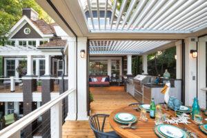 Struxure Outdoor Pergola X Outdoor Kitchen