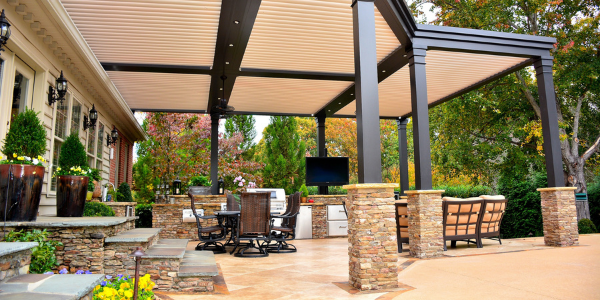 Impress Your Guests With Your Luxurious Backyard Patio