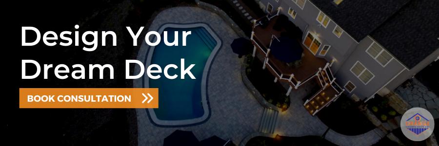 Call to action button - design your dream deck with OCDeckCo