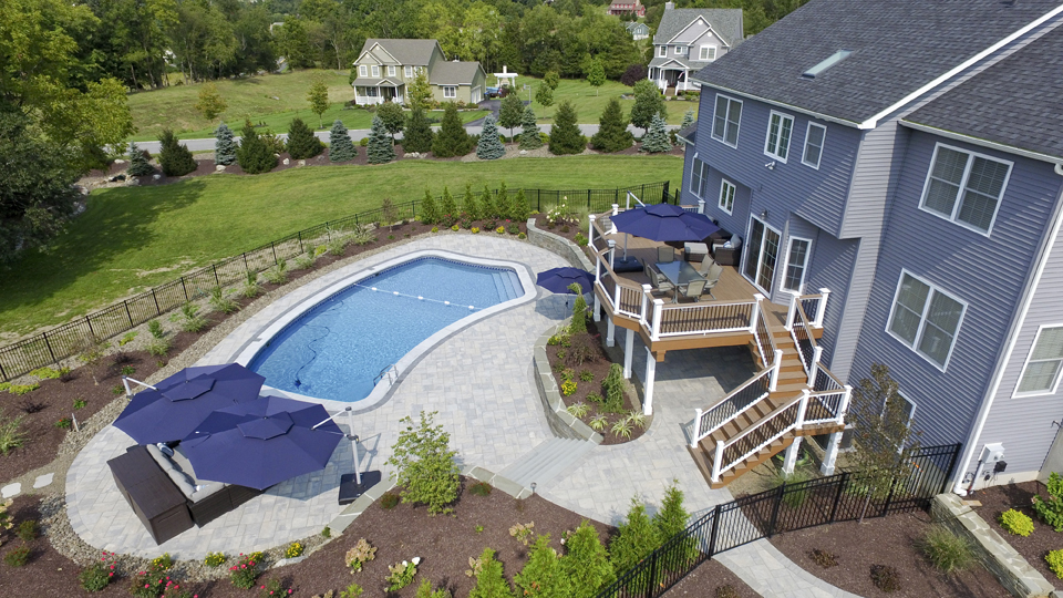 Outdoor living space remodeler in Orange County NY