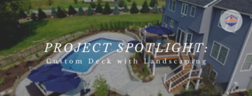 OCD Blog Cover Image - Custom Deck and Landscaping