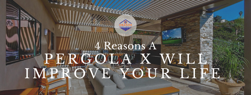 4 Reasons Why A Pergola X Will Improve Your Life - blog image
