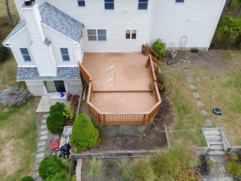 Before - Custom Deck Design and Build in NY